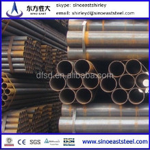 Hot! pipe factory supply Astm A53b Erw Steel Pipe schedule 40 standard sizes in china