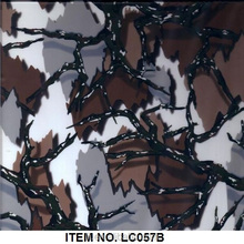 Camo water transfer printing film, hydrographic film, aqua print from China LC057B