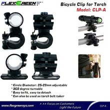 360 degree adjustable led Bike light mount
