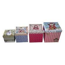 Gift Packing Box For Christmas Set