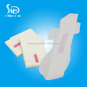 Pink Anion Core Sanitary Napkin With Negative Ion