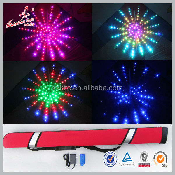 Universe LED light kite from the kite factory
