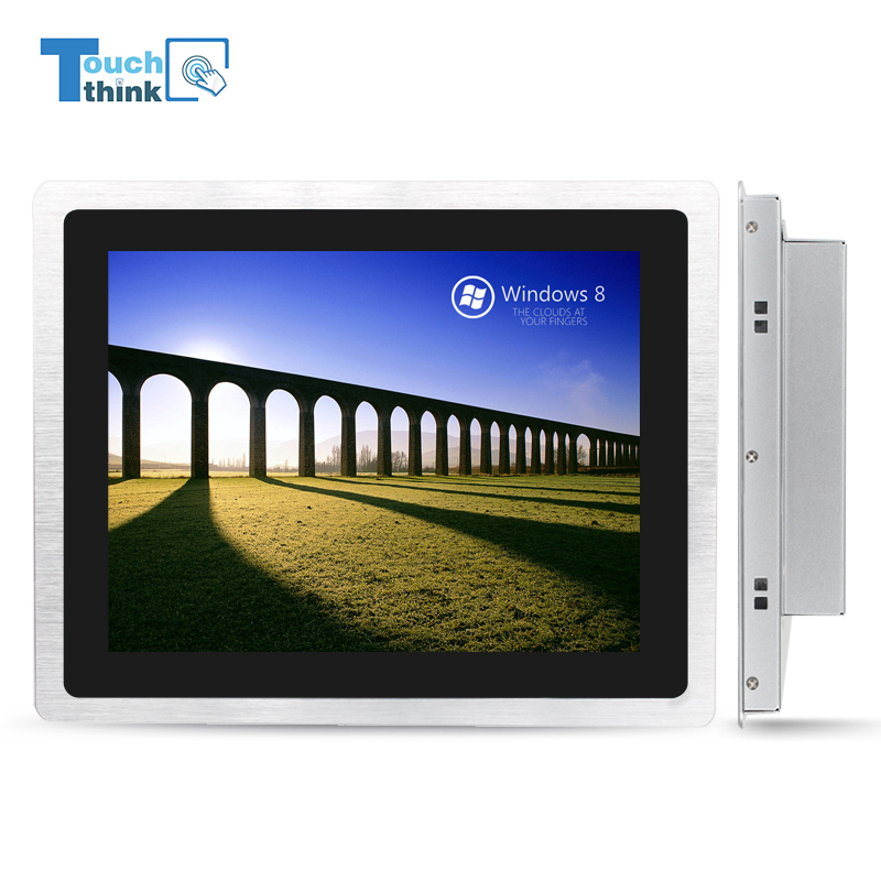 17 inch cheap touch screen All in one PC AMD Rear panel I/<strong>O</strong> ports