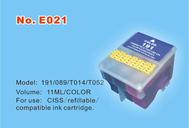 T050,T052(S093,S089; S187,S191) ink cartridge for use on C40,580,C20