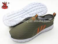free sample cheap comfortable mesh fabric running shoes men