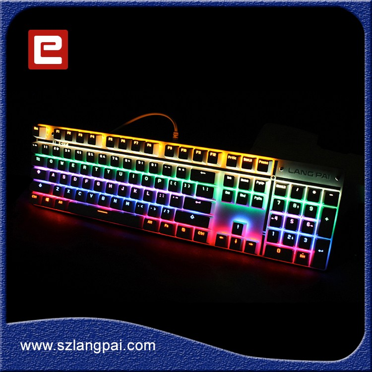 High Quality USB Wired Programmable Mechanical Gaming Keyboard