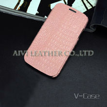 Durable genuine leather case for samsung galaxy s4 i9500