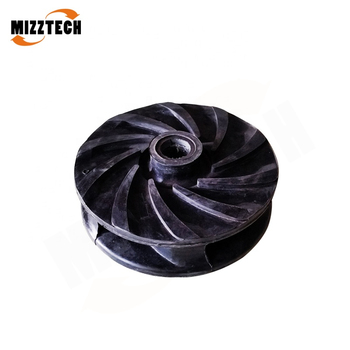 MIZZTECH MAH Type Horizontal Centrifugal Slurry Pump Impeller