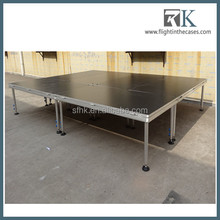 RK factory outlet decent stage/ aluminum frame/ plywood platform