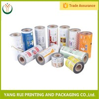 China factory Best-Selling automatic packaging Cereal Bar Plastic Film Roll
