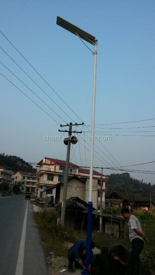 New energy lighting engineering high quality suppliers solar street lamps,all in one 50W led solar street light