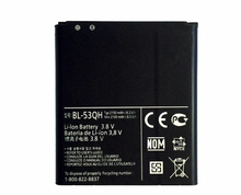 New BL-53QH Li-ion Battery For LG Optimus P880 P760 L9 KP765 F160 F200 P760 P765 BL53QH BL 53QH Batteries High Capacity 2150mAh