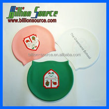 Ear Protection Adult Printing Silicone Swim Cap