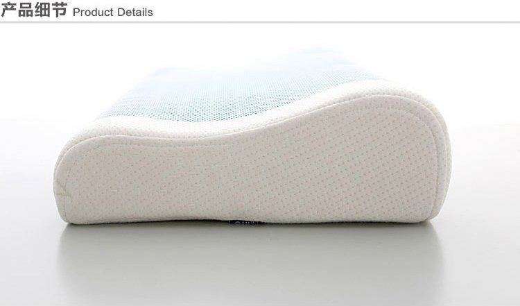 Ventilated Visco Foam Sleep Well Aqua Gel Pillow, New Style Sleep Well Aqua Gel Pillow, Neck Nursing Gel Memory Pillow