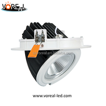 great performance high IP class adjustable 30w 40W Led cob downlights gimbal