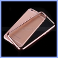 TPU Electroplating Soft Clear Cover Case for Samsung Galaxy S5 S6 S7 Edge Note 3 Note 4 Note 5
