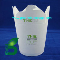 Delivery pla coating paper food box