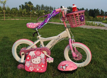 Plastic mudguard 12 years old girl model 4 wheel bicycle with CE certifiaction