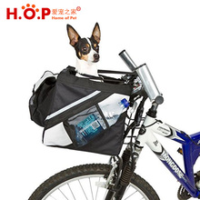 Portable Bicycle Handlebar Puppy Dog Vehicle Mounted Carrier Basket Dogs Cat Travel Foldable Pet Bags Bike Pet Carrier