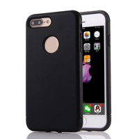 2 in 1 Shield Hybrid Dual Layer TPU + PC Shock Proof Cell Phone Case Cover for iphone SE