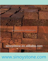 red lava stone brick