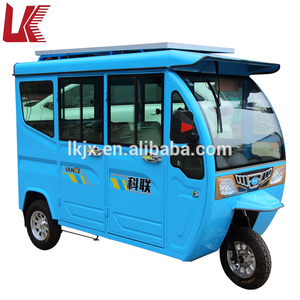 New fully closed 3 wheel electric tricycle for passenger/bajaj three wheeler price