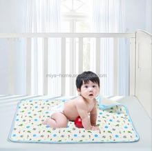 High quality Baby Changing Pad / Infant Cotton Printed Cover / Toddler Waterproof Urine Mat