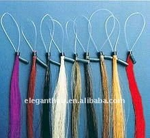 Colorful human hair 18 inch micro ring loop hair extension