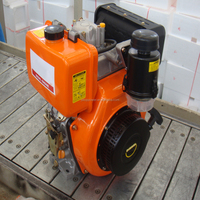 TOPOR Low RPM China 190F Mini Diesel Engine For Sale With Strong Power