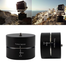 High quality 360 degree rotating tripod time lapse stabilizer Tripod adapter For Gopros DSLR time-lapse photography Mount