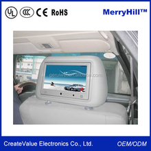 "Car Taxi TV Headrest Advertising 7"" 8 inch Capacitive LCD Touch Screen Monitor"