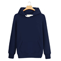 China custom 80%cotton 20%polyester long sleeve streetwear pullover hoodie
