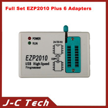 Full Set EZP2010 Plus 6 Adapters Updated EZP 2010 25T80 BIOS High Speed USB SPI Programmer