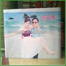 new design free standing famous event wedding backdrop stand portable display stand