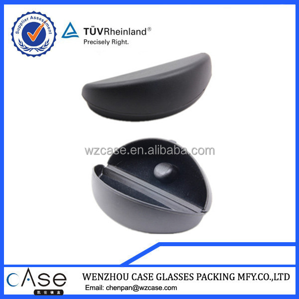 WZ Black plastic case/plastic box for sunglasses S47