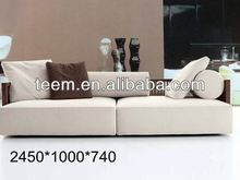 2014 Fashionable top sale modern furniture victorian sectional sofa D-36-1