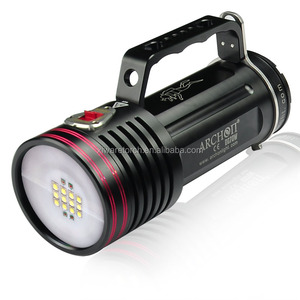 photographic /underwater shooting lighting portable underwater led diving video light WG76W