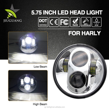 Wholesale Factory Price Auto Lighting Parts,DOT Approved Best Quality Super Bright Waterproof 5.75inch Led Headlight