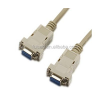 dB9 Female to Female RS232 Null Modem Serial Cable