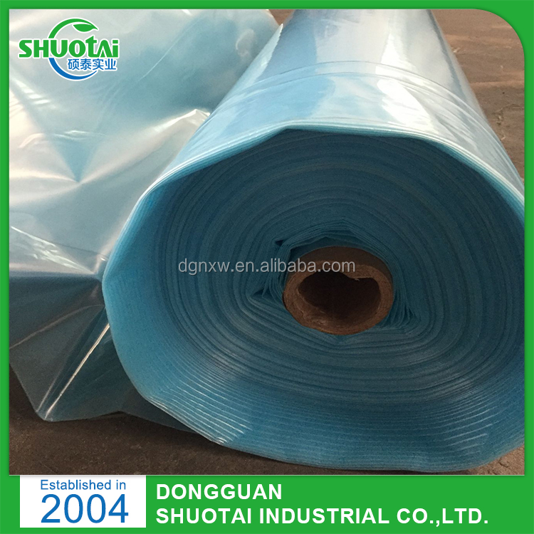 Transparency And Breathable Feature UV Protection Manual Plastic Film Roller For Greenhouse Film Lock Channel