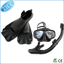 Customized Nice Quality Scuba Diving Set Snorkel And Mask Set Supplier
