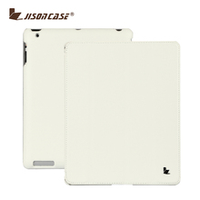 Jisoncase Slim Fit Smart Cover Workable PU Skin case for iPad 2 3 4