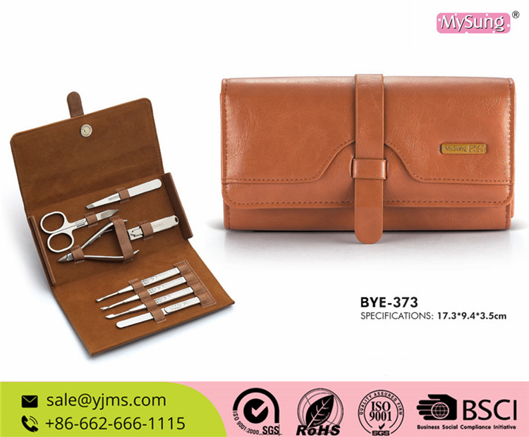 BYE-373 Stainless Steel Materials Used In Manicure Set