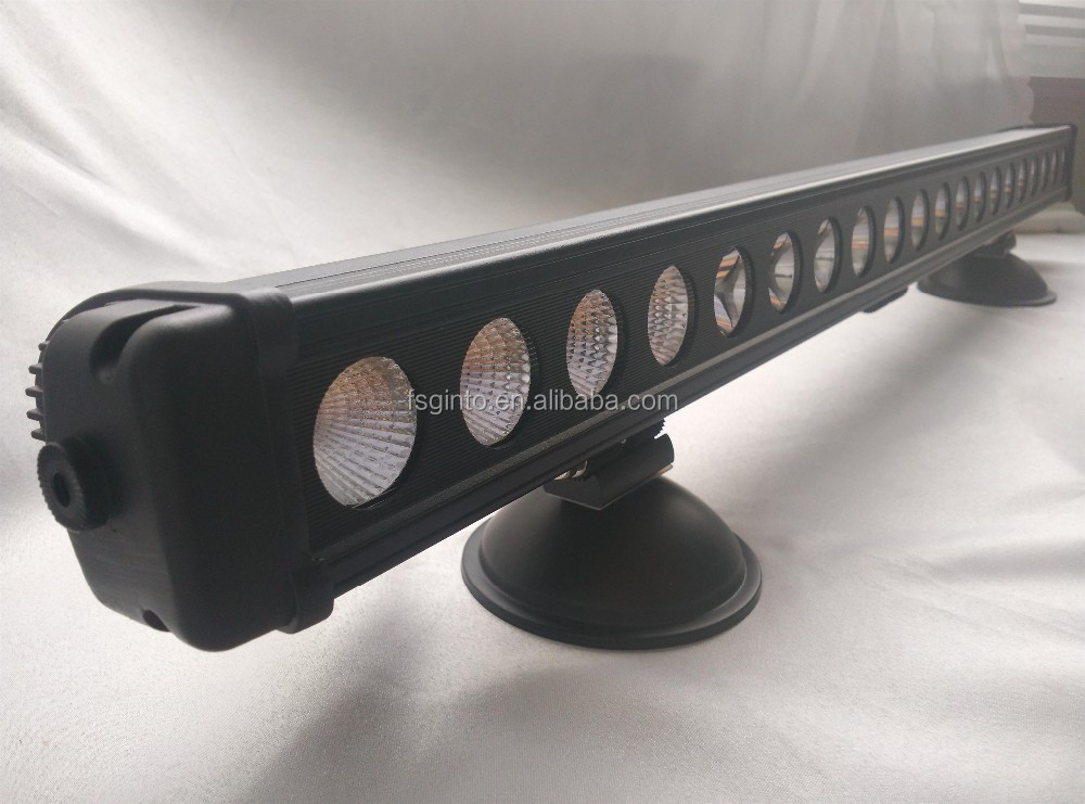 Factory direct supply!!! Thick aluminum housing 37'' 200W single row led light bar for off road 4x4 pickup