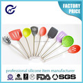 Hot sale high quality silicone kitchenware kitchen utensil tools