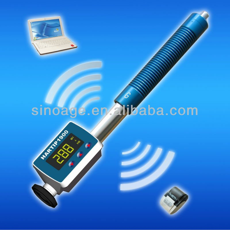 SADT Portable Hardness Tester HARTIP1900 for hardness of castings in HL (Leeb), HRB (Rockwell B), HB (Brinell)