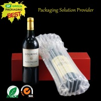 Wine bottle air bag transportation protective air bag packaging/air filled bags packaging