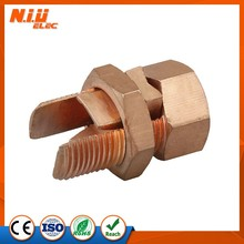Electric cable accessory screw bolt type copper, Copper Split Bolt Connector,cable connector,