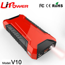 12000mAh Portable External Battery Charger Ultra-Slim 600A Peak Current Car Jump Starter Power Bank with 2.1A USB Charging Port