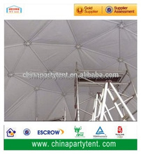High Quality Waterproof PVC Geodesic Dome Tent